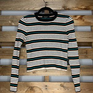"""F21 """"Contemporary"""" Striped Long Sleeve"""
